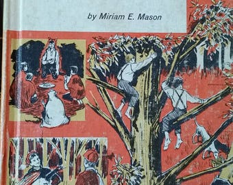 Dan Beard: Boy Scout - by Miriam Mason - 1962 - vintage childrens book