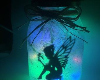 EU Plug  Fairy in a jar