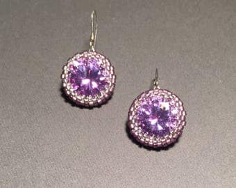 Ultra Violet Earrings