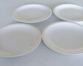 Mikasa Epiqure White Set Of Four Salad Plates