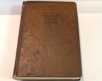 Mary Ronald's Century Cookbook 1899 Edition