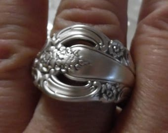 1960 Silver Artistry Spoon Ring