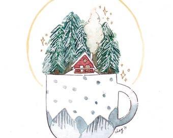 merry days — art print