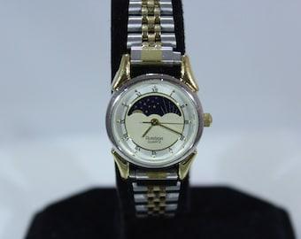 vintage Armitron Moon Phase Women's Watch