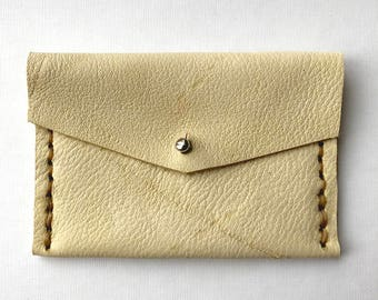 Tan Wallet Women-Tan-Tan Wallet-Deerskin