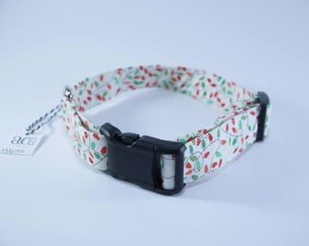 Holiday lights collar