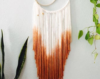 Dio dyed apricot dreamcatcher