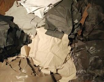 Scraps of leather (leather scraps)