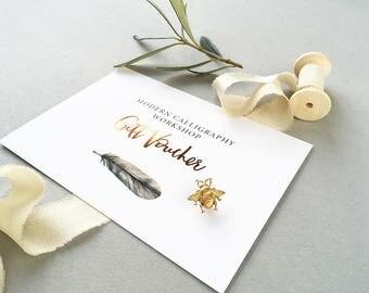 Gift Voucher - modern calligraphy workshops (Manchester)