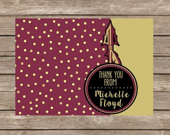 Custom FSU Notecards - Set of 20