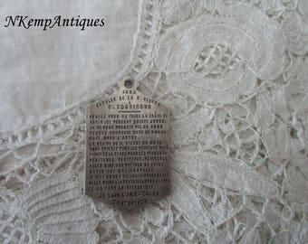 Antique religious pendant