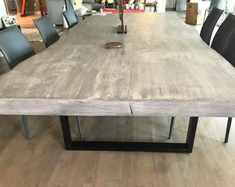 Modern Dining Table   Live Edge Dining Table   Dining Table   Live Edge Wood  Dining