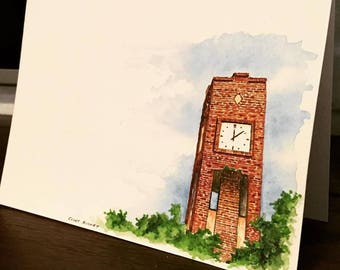 Clock Tower Cards
