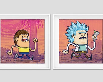 Lil Runners - Rick & Morty
