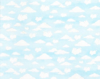 Cloud Animals in Sky- Cotton Tail Farm from Bunnies by the Bay- Timeless Treasures Fabric