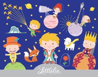 Little prince - fantasy clipart - 17053