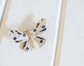 Vintage Butterfly Brooch Vintage Jewelry