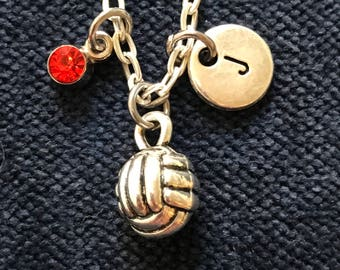Volleyball Necklace Volleyball Jewelry