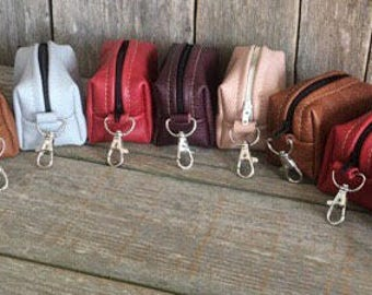 Leather Inhaler pouch,ipod case,earphone case,coin purse,leather case.