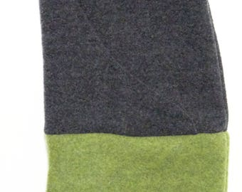 neck-hood in organic wool