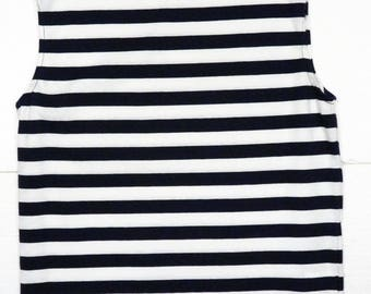 boatneck tshirt in stretch cotton