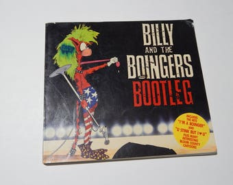 1987 1st Ed. Billy and the Boinger Bootleg Bloom County Cartoon Book