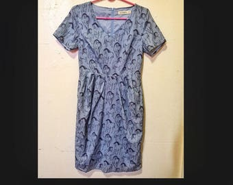 Horse Print Dress with pockets by Sugarhill Boutique