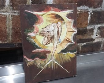 Oil Painting Copy Ancient of Days William Blake