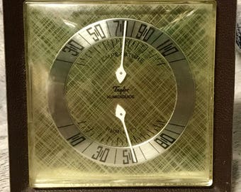 Vintage Taylor Humidiguide Thermometer / Humidity