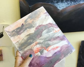Abstract Blank Notebooks