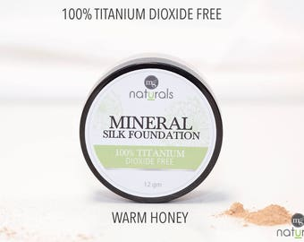 100% Titanium Dioxide Free Make Up Love your by MamaGoingNatural