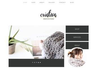 Wordpress Theme & Brand Suite - Criativa