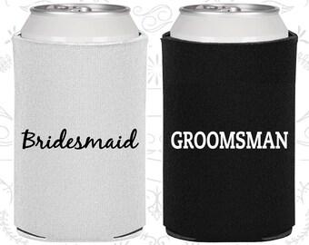 Bridesmaid Gift, Groomsman Gift Ideas, Bridesmaid Can Cooler, Groomsman Can Cooler, Bridesmaid Gift Ideas (320002)