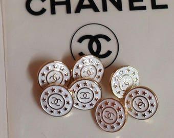 Designer button rose gold ,14 mm
