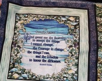 Serenity Prayer Pillow Panels