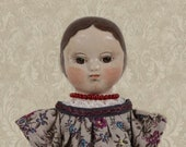 Izannah Walker style doll girl