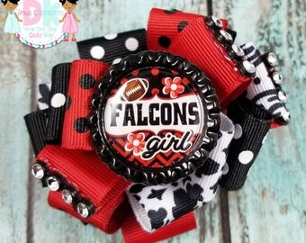 Falcons Loopy and Necklace