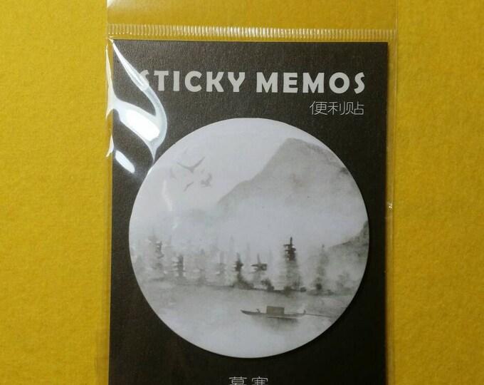 Japanese Style Sticky Notes