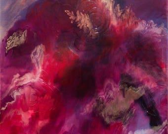 Sunday Rose 1   Original Painting