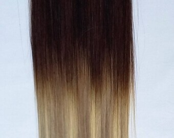 """20"""" 100grs,40pcs,OMBRE BALAYAGE 100% Human Tape In Hair Extensions #T2-18/613"""