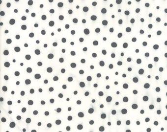 Savannah Charcoal Spotted Yardage SKU# 48226-11 Savannah by Gingiber for Moda Fabrics