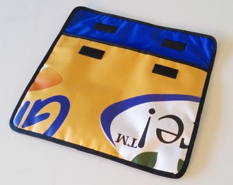 """Bike Tube Laptop Sleeve for 13"""" Macbook Pro Recycled Gift for Cyclist"""