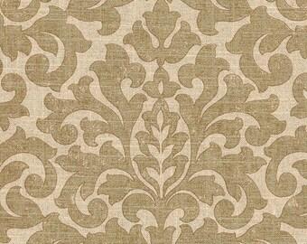 Sale Gold Damask Fabric Upholstery Fabric Metallic Drapery Fabric Waverly Glam Packed Home
