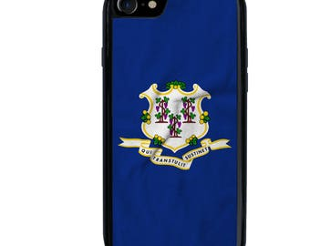 Ct Flag Phone Case Etsy - Ct state in usa
