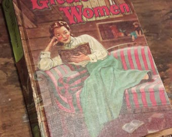 1955 Little Women Hardcover - Louisa May Alcott - Whitman Publishing