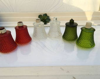 Vintage Votive Glass Holders