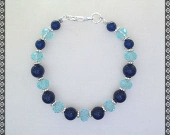 blue bracelet, dark blue bracelet, light blue, light blue bracelet, aqua, aqua bracelet, blue