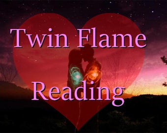 Soul Mate Psychic Reading || TWIN FLAME READING - Oracle Card || Tea Leaf || Intuitive Psychic Reading - Email & Pdf