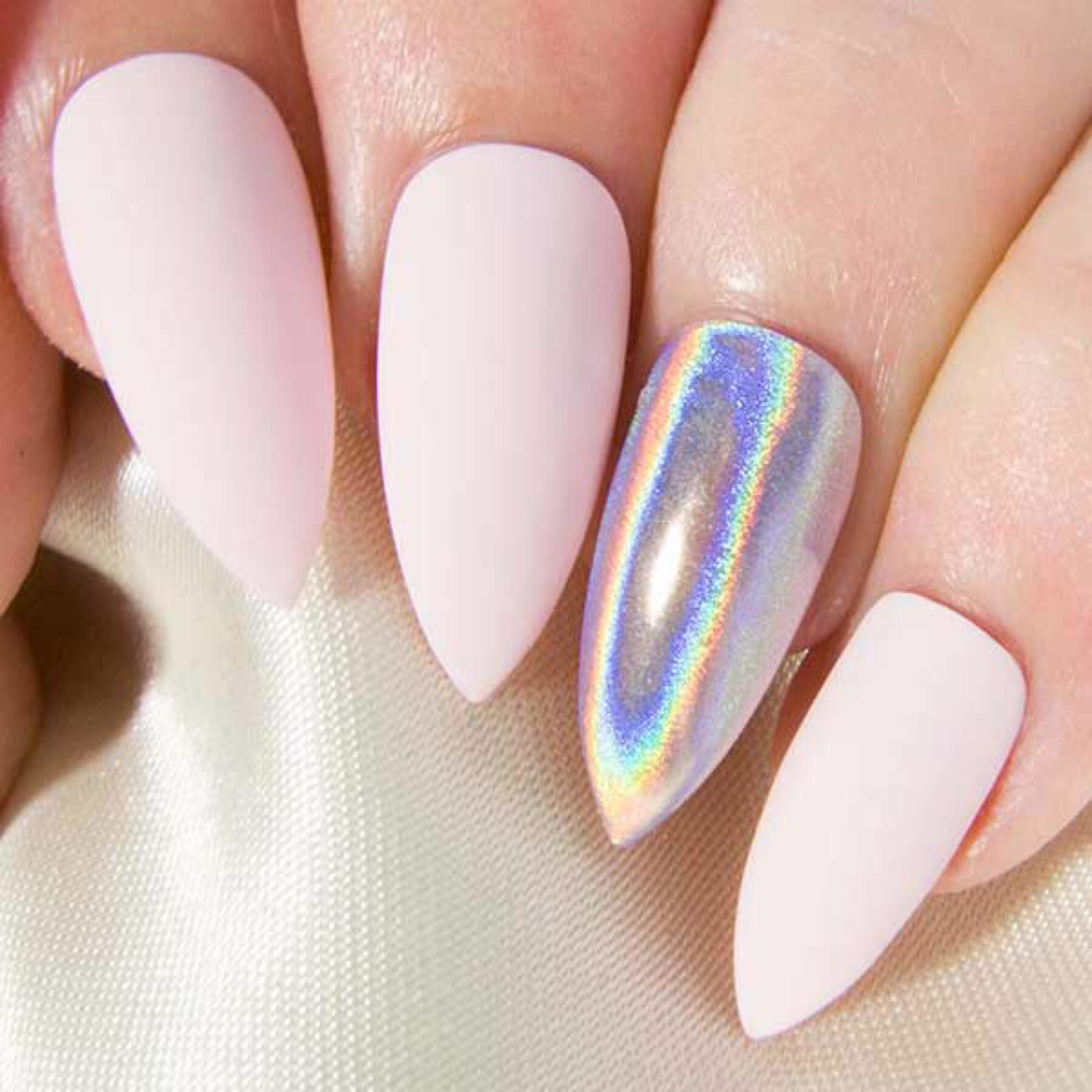 Matte fake nails stiletto press on nails pointy glue on 2999 prinsesfo Image collections