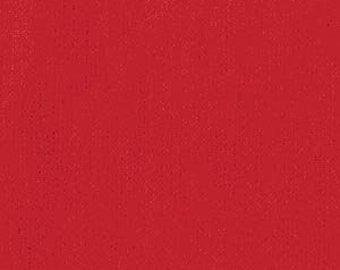 Solid Fabric, Blender Fabric, Shot Cotton - Peppered Cotton by Pepper Cory for Studio E - 16 (True) Red Flame - Priced by the Half yard